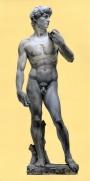 David di Michelangelo, oil on canvas, 50x100cm